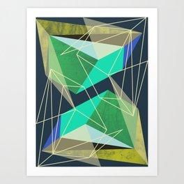 ColorBlock VI Art Print