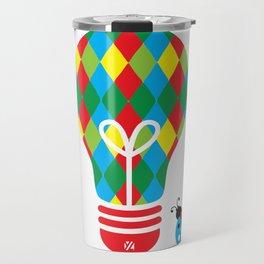 Jokester: Bright Idea Art Series  Travel Mug