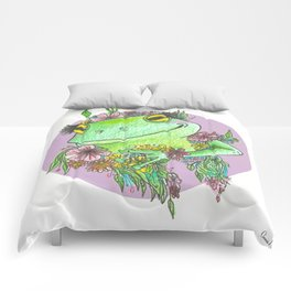 Froggy Flower Child Comforters