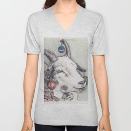 Yule Sheep Unisex V-Neck
