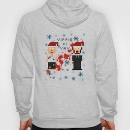 A Die Hard Christmas Cross Stitch Pattern Hoody
