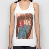 zombies Tank Tops featuring Zombies  by Drake Darklight