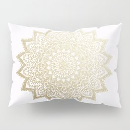BOHO NIGHTS GOLD MANDALA Pillow Sham