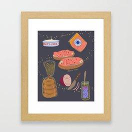 Bagels = Magic Framed Art Print