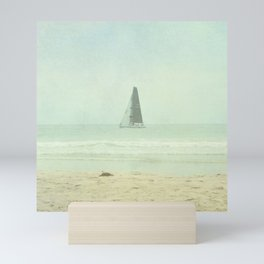 Sail Away - Newport Beach California Mini Art Print