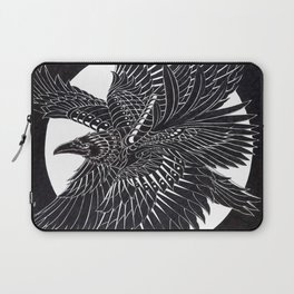 Moonlight Raven Laptop Sleeve