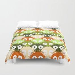 susuwatari pattern (color version) Duvet Cover