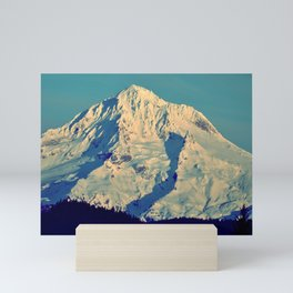 MT. HOOD - AT TWILIGHT Mini Art Print