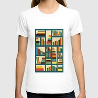 library T-shirts featuring library by vitamin