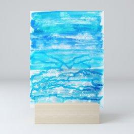 Sea Spray - Mixed Media Abstract Artwork Mini Art Print