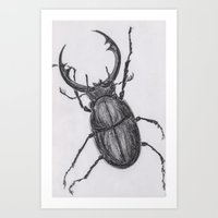 Mr. Bug Art Print