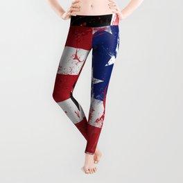 Artistic LXXXIX - Americana Star II Leggings