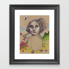 HENRIETTA Framed Art Print
