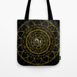 Oakland University Mandala Tote Bag