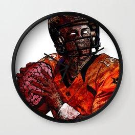 Peyton Manning zombie Wall Clock