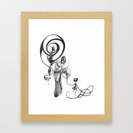 Coterie Framed Art Print