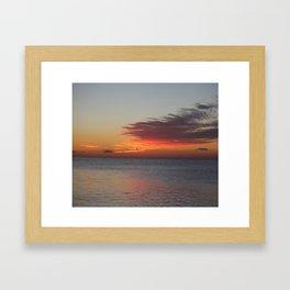 Sun and Sea Framed Art Print