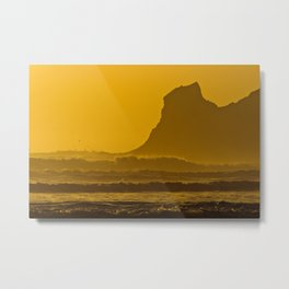 Golden Oregon Metal Print
