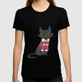 Cozy cat red T-shirt