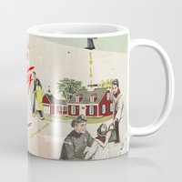 community Mugs featuring Community by Heather Landis