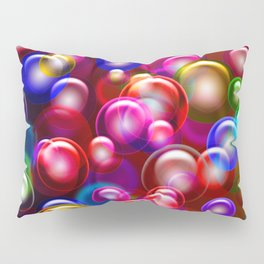 Bubble Madness Pillow Sham
