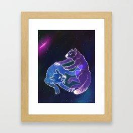 Pyccoly Cani nello Shpazie Framed Art Print