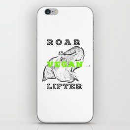 Roar Vegan Lifter Elephant iPhone Skin