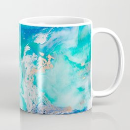 Into the Blue Lagoon Coffee Mug