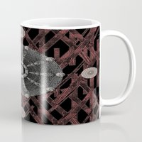 celtic Mugs featuring Celtic Pattern by Pepita Selles