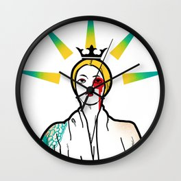 APRO-goddess Wall Clock