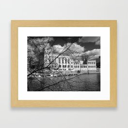 York Guildhall on the river Ouse Framed Art Print