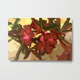 Beautiful Excotic Flowers Metal Print