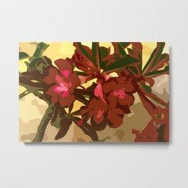 Beautiful Excotic Flowers Metal Print