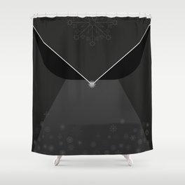Schneekönigin Textile Design by hatgirl.de Shower Curtain