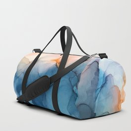 Captivate- Alcohol Ink Painting Duffle Bag