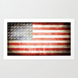 Pistols and Stripes Art Print