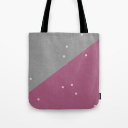 Concrete & Dots Tote Bag