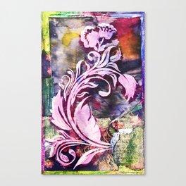 Safuli's Flower Canvas Print