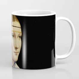 "Leonardo Da Vinci ""Portrait of Cecilia Gallerani (Lady with the Ermine)"" Coffee Mug"
