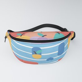 Skull Fruit Bowl Fanny Pack