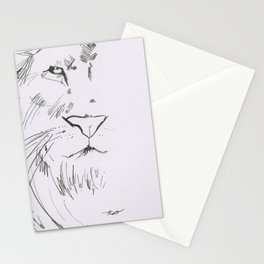 The Lord is a Lion Stationery Cards