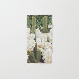 Cactus and Flowers Hand & Bath Towel