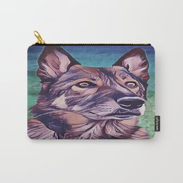 American Alsatian - Wolf Hybrid Carry-All Pouch