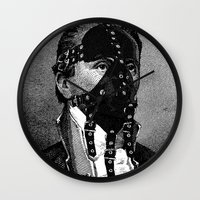 bdsm Wall Clocks featuring BDSM IV by DIVIDUS