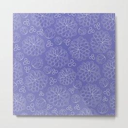 Terrariums Pattern Metal Print