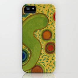Grouping Circles iPhone Case