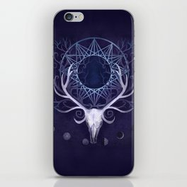 Season Of The Moon's Winter Fire iPhone Skin
