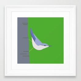 nötvecka igen Framed Art Print