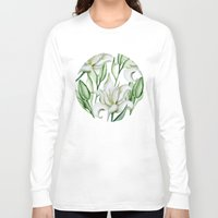 lily Long Sleeve T-shirts featuring Lily by Julia Badeeva
