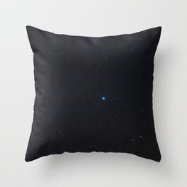 Aquila Constellation in Real Night Sky, Eagle Constellation Starry Sky Throw Pillow